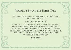 Shortest Fairy Tale